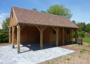 tuinberging, houtconstructie, Betekom