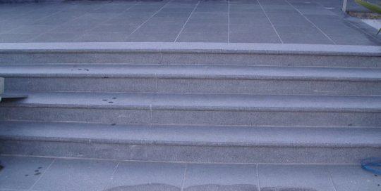 trappen, natuursteen,palladio light, palladio dark, Rotselaar, Wezemaal