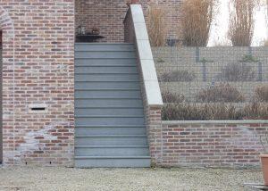 trappen, natuursteen, palladio light, Everberg