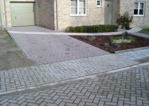 oprit, betonklinkers, Ramsel, Herselt