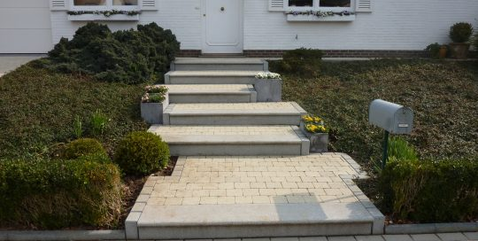 trappen, natuursteen, klinkers, Moorsel Tervuren
