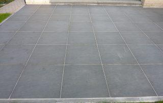 tegelwerken, terrastegels, keramische tegel, imitatie natuursteen, Kortenberg